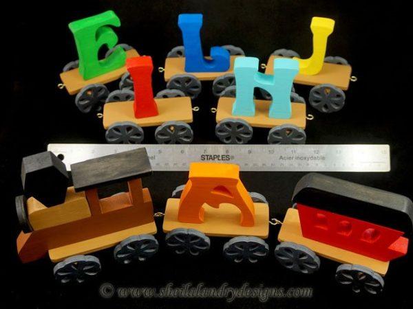 Scroll Saw Toy Trains Plans