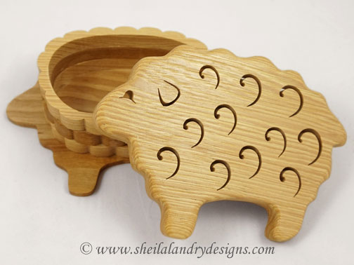 Sewing Box Scroll Saw Pattern