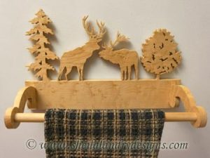 Towel Holder Woodworking Plans