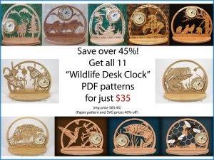 Clock Scroll Saw Patterns