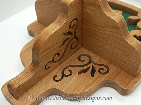Shelf Scroll Saw Pattern