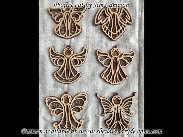 Filigree Angel Scroll Saw Pattern
