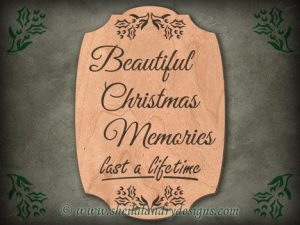 Christmas Memories Scroll Saw Pattern