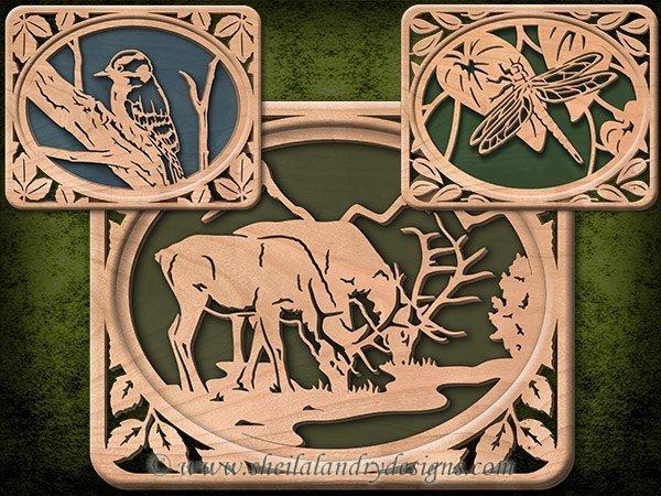 Wildlife Laser Patterns