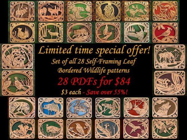 Wildlife Scroll Saw Patterns