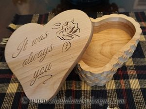 Scroll Saw Heart Box Pattern