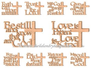 Bible Verse Scroll Saw Patterns