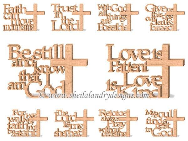 Bible Verse Scroll Saw Patterns