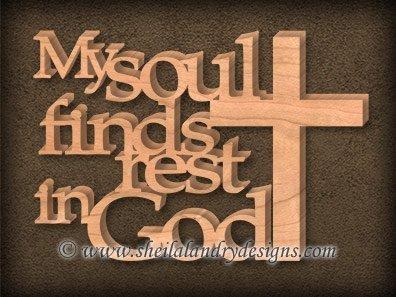 My Soul Scroll Saw Pattern