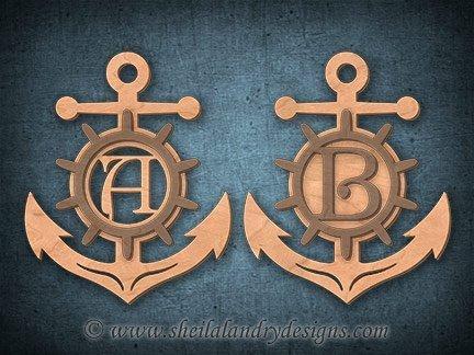 Nautical Scroll Saw Pattern