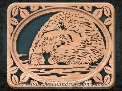 Beaver Scroll Saw Pattern