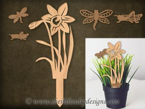 Daffodil Scroll Saw Pattern