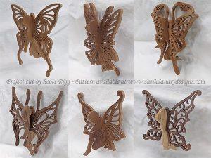 Fairy Scroll Saw Pattern