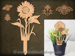 Sunflower Scroll Saw Pattern