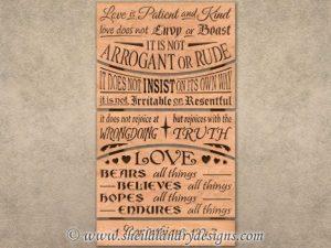 Corinthians Scroll Saw Pattern
