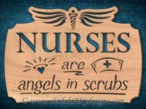 Nurse Scroll Saw Pattern