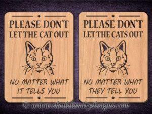 Scroll Saw Kitten Pattern