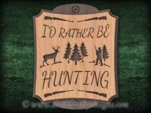 Hunting Scroll Saw Pattern