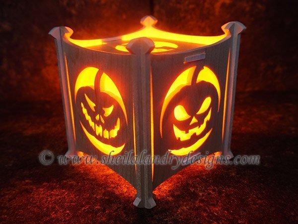 Halloween Light Scroll Saw Pattern