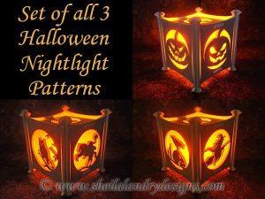 Scroll Saw Halloween Nightlight