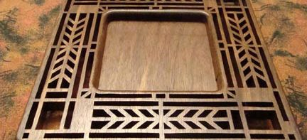 Scroll Saw Art Deco Tray