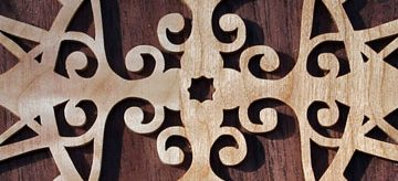 Scroll Saw Filigree Cross